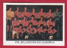Hungary Team 214 82WC